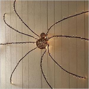 Oversized spider
