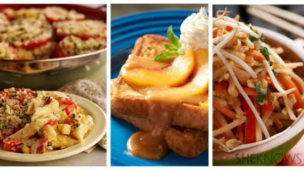 3 Mouthwatering meatless meals