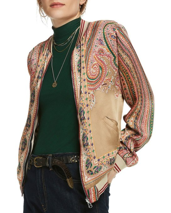 Ways To Wear Graphic Prints: Reversible Scotch & Soda jacket, at Bloomingdale's   Fall Fashion