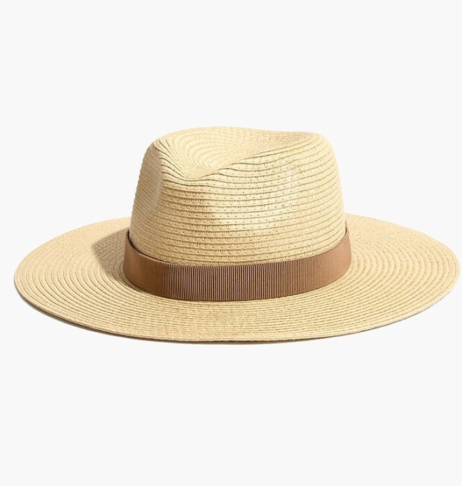 What to Wear to Every Summer BBQ: Madewell Packable Mesa Straw Hat | Summer Fashion 2017