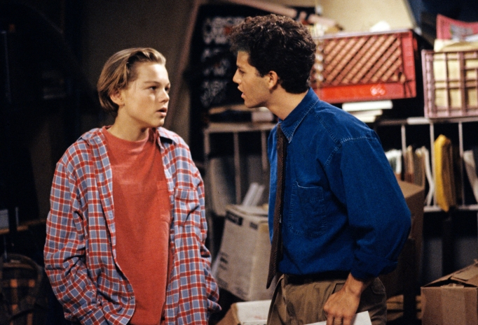 Leonardo DiCaprio Kirk Cameron in 'Growing Pains'