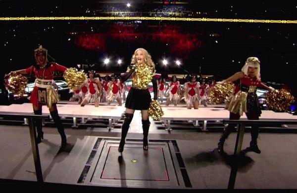 "Madonna slams M.I.A.'s ""teenage"" Super Bowl"