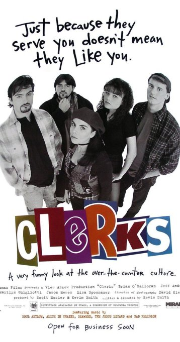'90s Movies That Would Make No Sense Now - Clerks