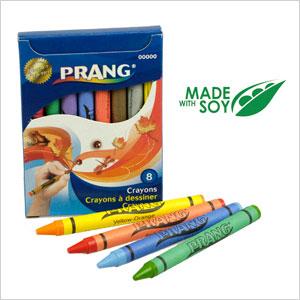 Prang soy crayons