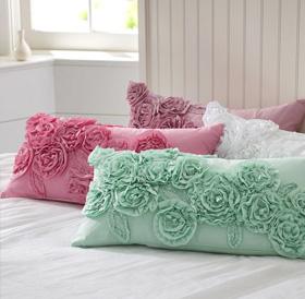 PB Teen pillows