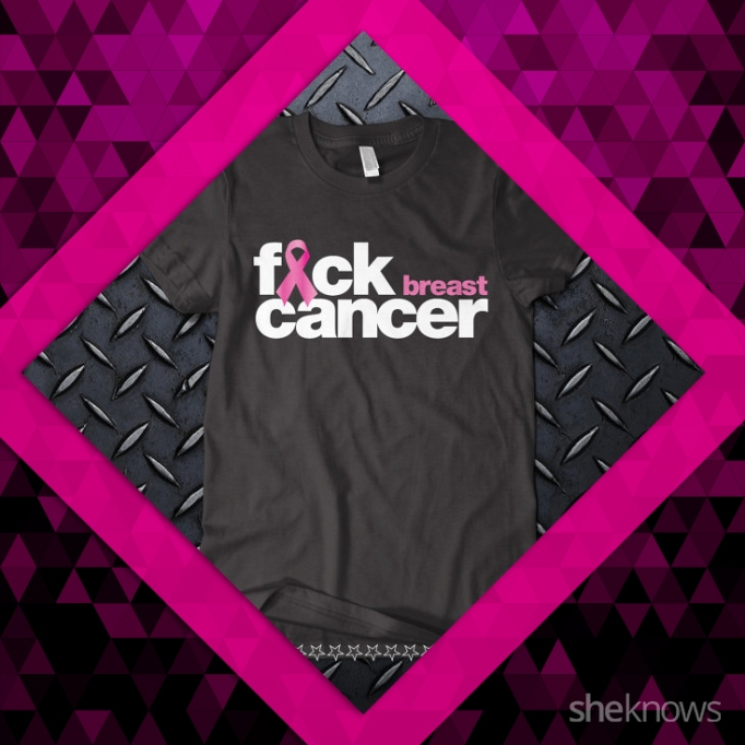 fuck breast cancer shirt