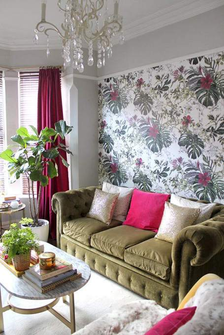 Genius Ways To Freshen Up Your Walls | Fresh Wallpaper