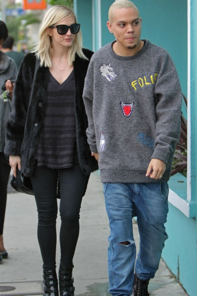 Pregnant Ashlee Simpson and Evan Ross