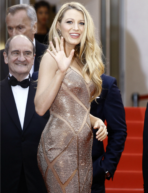 Pregnant Blake Lively at Cannes