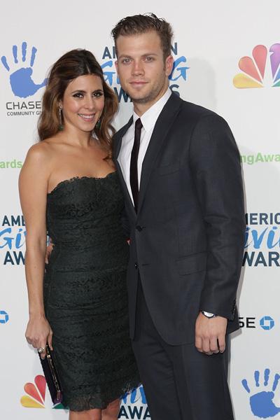 Pregnant Jamie Lynn Sigler and Cutter Dykstra