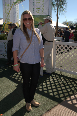 Preppy look -- Heather
