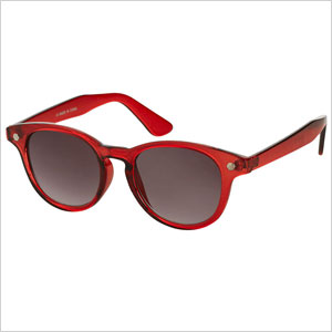 Topshop Preppy Flat Top Sunglasses
