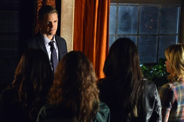 Detective Wilden threatens the liars