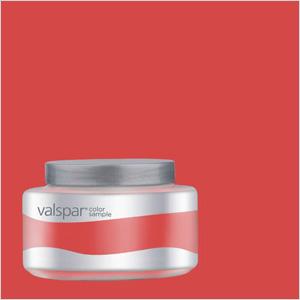 Valspar Pantone Poppy Red (Lowes.com, $3).
