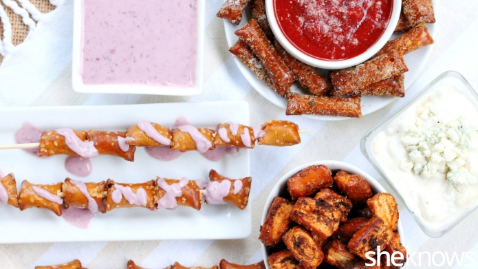 3 Super-simple pretzel snacks and dips
