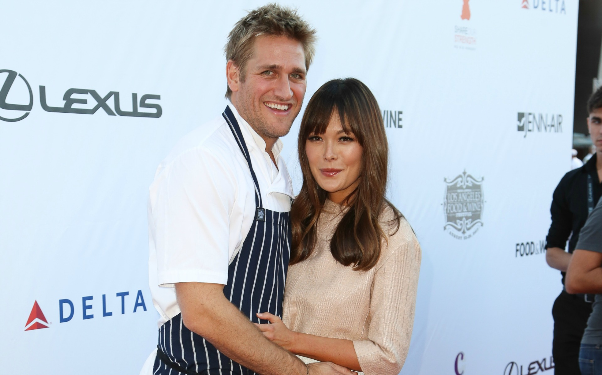 Lindsay Price and Curtis Stone
