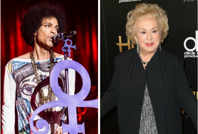 Prince; Doris Roberts