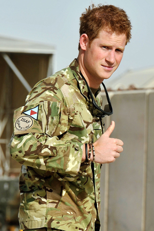 Prince Harry is done in Afghanistan