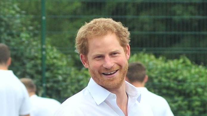 Prince Harry was in Stockport today