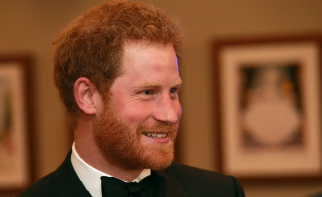 Prince Harry at Spectre world premiere