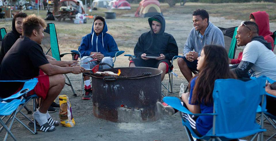 Jacksons at camp