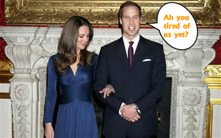 Prince William and Kate Middleton: Are you tired of us yet?