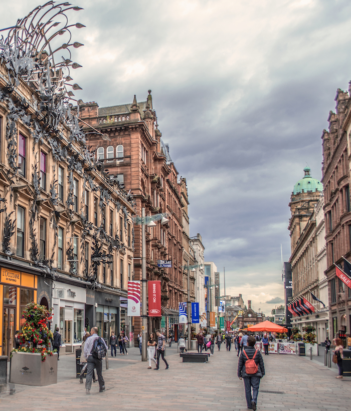 Princes Square in Glasgow