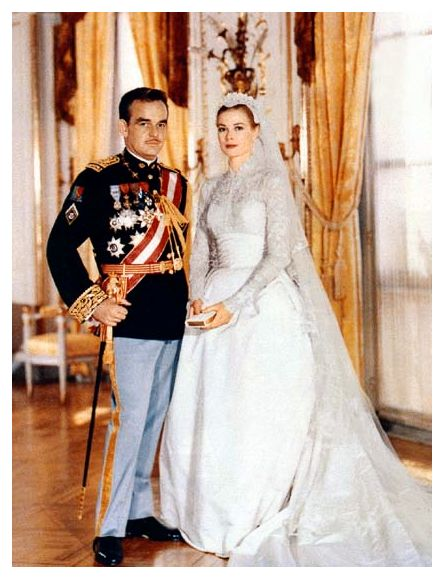 Grace of Monaco's royal wedding gown