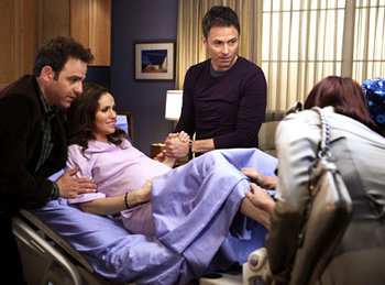 Tim and Amy have a baby on Private Practice