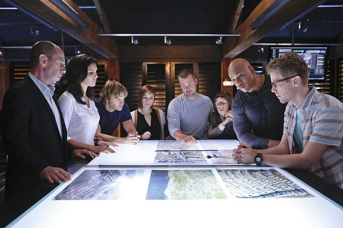 NCIS: LA cast