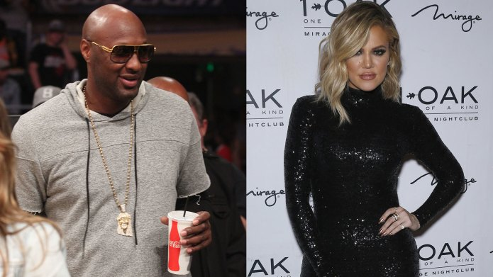 Lamar Odom and Khloé K may
