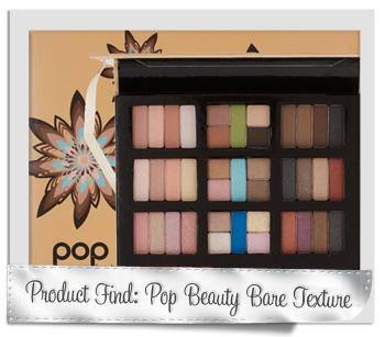 Pop Beauty Bare Texture eye shadow