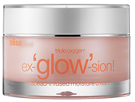 Product review: bliss triple oxygen ex-'glow'-sion Moisture Cream