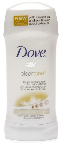 Dove Clear Tone Sheer Touch Deodorant
