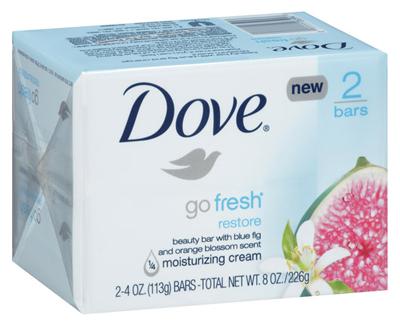 Dove go fresh Restore Beauty Bar ($3.59, dove.com)