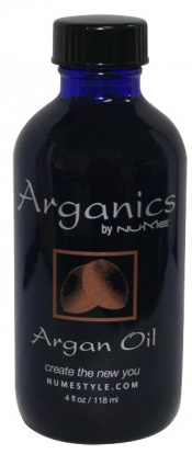 NuMe curling wand argan oil