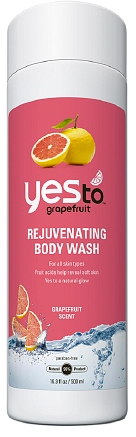 Yes to Grapefruit Rejuvenating Body wash (yestocarrots.com, $9)