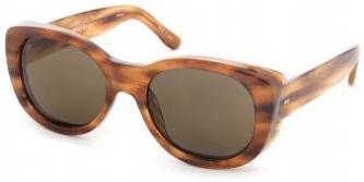 Dries Van Noten retro style tortoiseshell sunglasses