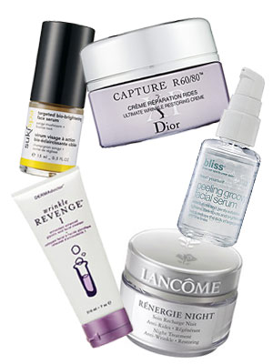 Use a serum to fight wrinkles