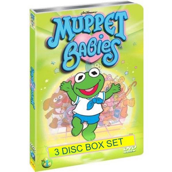 'Muppet Babies' DVD art