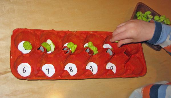 Project-based preschool - Sorting