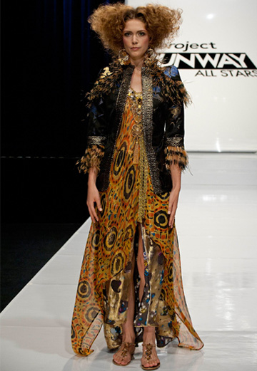 Project Runway -- Steal the look Episode 7 -- Mondo's dress