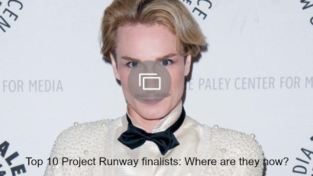 Project Runway finalists slideshow