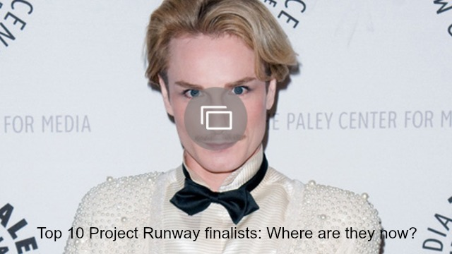 Project Runway finalists slideshow