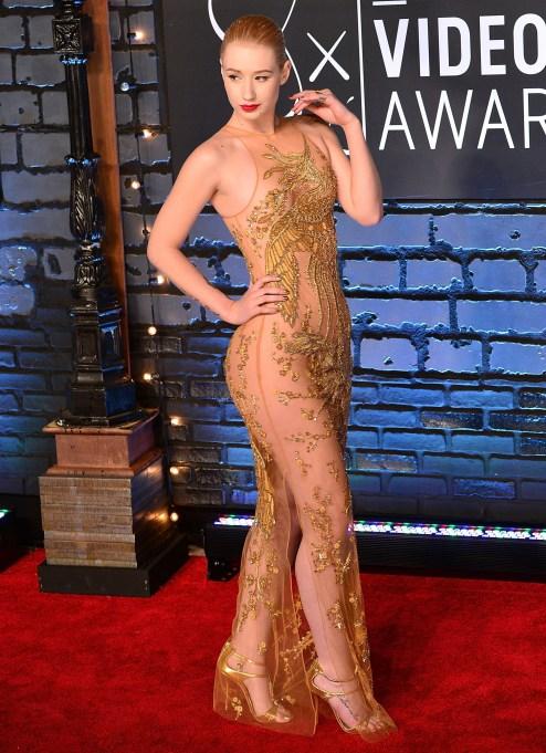 Iggy Azalea attends the 2013 MTV Video Music Awards