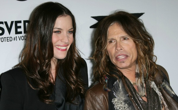 Celebrities with famous fathers: Liv Tyler & Steven Tyler