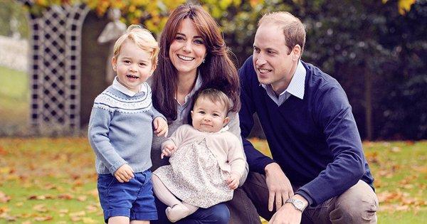 The royal family's Christmas card