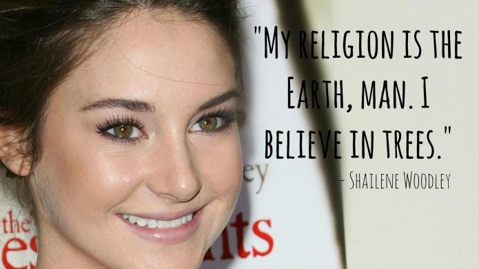 12 Most bizarre Shailene Woodley quotes