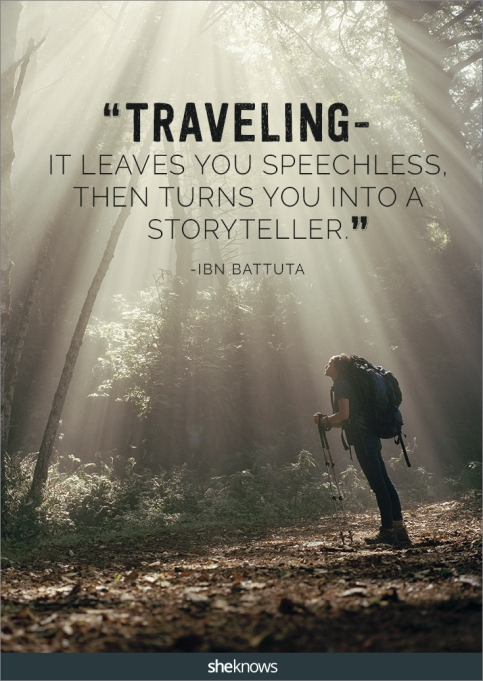 A travel quote by Ibn Battuta