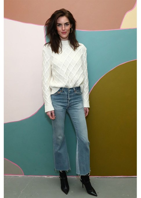 Celebrities Who Wore Wide Leg Jeans and Looked Damn Good | Hilary Rhoda